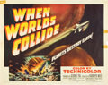 "Movie Posters:Science Fiction, When Worlds Collide (Paramount, 1951). Half Sheet (22"" X 28"").. ..."