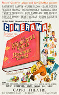 "Movie Posters:Fantasy, The Wonderful World of the Brothers Grimm (MGM, 1962). CineramaMidget Window Card (9"" X 14.5"").. ..."