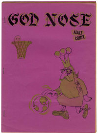 God Nose #1 First Printing (Jack Jackson, 1964) Condition: FN/VF