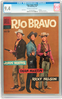 Four Color #1018 Rio Bravo (Dell, 1959) CGC NM 9.4 Off-white to white pages