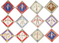 Baseball Cards:Sets, 1914 B18 Baseball Blankets Near Set (85/90) Plus Variations!...