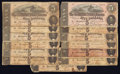 Confederate Notes:1864 Issues, T69 $5 1864 Thirteen Examples.. ... (Total: 13 notes)