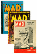 Golden Age (1938-1955):Humor, Mad Comics Group (EC, 1954) Condition: Average GD+.... (Total: 6 Comic Books)