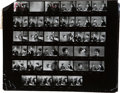 Movie/TV Memorabilia:Photos, Assorted Vintage Contact Sheets and Negatives Featuring '60sCelebs....