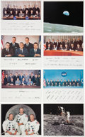 Explorers:Space Exploration, Apollo through STS-1 Era: Collection of Official NASA Prints and Glossies.... (Total: 82 Items)