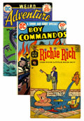 Golden Age (1938-1955):Miscellaneous, Miscellaneous Golden to Bronze Age Short Box Group (Various Publishers, 1950s-70s) Condition: Average GD....