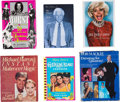 Movie/TV Memorabilia:Autographs and Signed Items, Assorted Celebrity-Signed Books.... (Total: 6 )