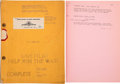 Movie/TV Memorabilia:Memorabilia, Dalton Trumbo's A Guy Named Joe Office Copy Script....