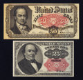 Fractional Currency:Fifth Issue, 75¢ Face Fifth Issue Notes.. ... (Total: 2 notes)