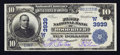 National Bank Notes:Nebraska, Wood River, NE - $10 1902 Date Back Fr. 618 The First NB Ch. # (W)3939. ...
