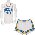 Basketball Collectibles:Uniforms, Late 1960's/ Early 1970's UCLA Basketball Game Worn Uniform....