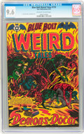 Golden Age (1938-1955):Horror, Blue Bolt #119 (Star Publications, 1953) CGC NM+ 9.6 Off-white towhite pages....