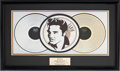 Music Memorabilia:Awards, Elvis Related - Bill Black's Commemorative Award from RCA....