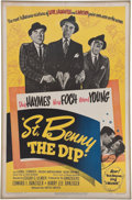 Movie/TV Memorabilia:Memorabilia, Edgar G. Ulmer's One Sheet Poster for St. Benny the Dip....(Total: 2 )
