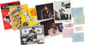 Music Memorabilia:Autographs and Signed Items, Rock 'n Roll and Pop Music Autograph Group.. ... (Total: 13 Items)