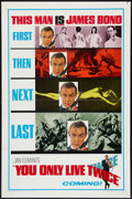 "Movie Posters:James Bond, You Only Live Twice (United Artists, 1967). One Sheet (27"" X 41"")Advance and Pressbook (13"" X 18""). James Bond.. ... (Total: 2Items)"