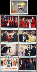 """Movie Posters:Comedy, Never a Dull Moment Lot (Buena Vista, 1968). Lobby Card Set of 9 (11"""" X 14"""") and One Sheet (27"""" X 41""""). Comedy.. ... (Total: 10 Items)"""
