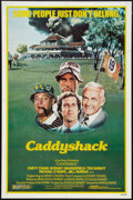 "Movie Posters:Comedy, Caddyshack (Orion, 1980). One Sheet (27"" X 41"") and Mini LobbyCards (4) (8"" X 10""). Comedy.. ... (Total: 5 Items)"