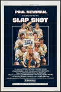 """Movie Posters:Sports, Slap Shot (Universal, 1977). One Sheet (27"""" X 41"""") Style A, andLobby Card Set of 4 (11"""" X 14""""). Sports.. ... (Total: 5 Items)"""