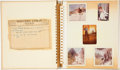 Movie/TV Memorabilia:Photos, Lucille Ball's Personal Photo Album....