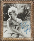Movie/TV Memorabilia:Autographs and Signed Items, Lucille Ball Inscribed Photo to Her Husband, Gary Morton....