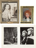 Movie/TV Memorabilia:Photos, Lucille Ball Personal Photos with Book.... (Total: 3 )
