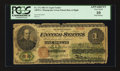 Large Size:Legal Tender Notes, Fr. 17a $1 1862 Legal Tender PCGS Apparent Very Good 10.. ...