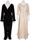 Movie/TV Memorabilia:Costumes, Edie Adams Screenworn and Performance-Worn Dresses.... (Total: 2 )