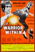 "Movie Posters:Action, The Warrior Within Lot (Cineworld, 1976). One Sheets (4) (27"" X 41""& 25"" X 37"") Regular and Flat Folded. Action.. ... (Total: 4Items)"