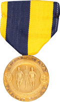 Explorers:Space Exploration, Ed White II: Army - Navy Track Meet One Mile Relay Medal Presentedto Him in 1952 and Directly from His Personal Collection....