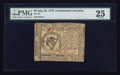 Colonial Notes:Continental Congress Issues, Continental Currency July 22, 1776 $8 PMG Very Fine 25.. ...