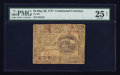 Colonial Notes:Continental Congress Issues, Continental Currency May 20, 1777 $4 PMG Net Very Fine 25.. ...