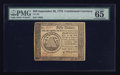 Colonial Notes:Continental Congress Issues, Continental Currency September 26, 1778 $50 PMG Gem Uncirculated 65EPQ.. ...
