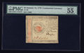 Colonial Notes:Continental Congress Issues, Continental Currency January 14, 1779 $4 PMG About Uncirculated 55EPQ.. ...