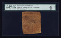 Colonial Notes:Delaware, Delaware February 28, 1746 20s PMG Net Good 4.. ...