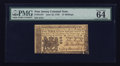 Colonial Notes:New Jersey, New Jersey June 22, 1756 15s PMG Choice Uncirculated 64.. ...