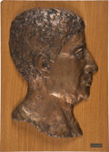 Movie/TV Memorabilia:Memorabilia, Edgar G. Ulmer Profile Bust....