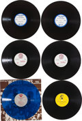 Music Memorabilia:Recordings, Beatles Promo Album Group of 4 (1978-90) and Singles Group of 3(1964-66).... (Total: 7 Items)