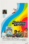 Music Memorabilia:Posters, Jimi Hendrix Rainbow Bridge Movie Poster Group (TransvuePictures, 1972).... (Total: 9 Items)