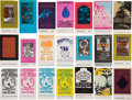 Music Memorabilia:Tickets, Bill Graham Concert Ticket Group (1960s).... (Total: 21 Items)