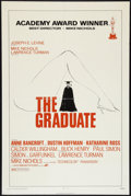 "Movie Posters:Comedy, The Graduate Lot (Embassy, R-1972). One Sheets (2) (27"" X 41"") Academy Award Style. Comedy.. ... (Total: 2 Items)"