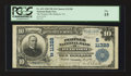 National Bank Notes:Virginia, Bedford, VA - $10 1902 Plain Back Fr. 632 The Peoples NB Ch. #(S)11328. ...