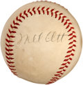 Autographs:Baseballs, 1940's Mel Ott Single Signed Baseball....