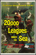 """Movie Posters:Science Fiction, 20,000 Leagues Under the Sea Lot (Buena Vista, R-1971). One Sheets(2) (27"""" X 41""""). Science Fiction.. ... (Total: 2 Items)"""