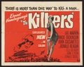 "Movie Posters:Crime, The Killers (Universal, 1964). Half Sheet (22"" X 28""). Crime.. ..."
