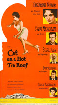 "Movie Posters:Drama, Cat on a Hot Tin Roof (MGM, 1958). Standee (33"" X 59"").. ..."