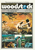 "Movie Posters:Rock and Roll, Woodstock (Warner Brothers, 1970). Japanese Pressbook (MultiplePages, 10"" X 14.5"").. ..."