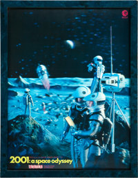 """2001: A Space Odyssey (MGM, 1968). Lenticular 3-D Tabletop Display (11"""" X 14.5"""")"""