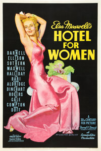 "Hotel for Women (20th Century Fox, 1939). One Sheet (27"" X 41"")"