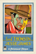 "Movie Posters:Western, Jesse James (Paramount, 1927). One Sheet (27"" X 41"") Style A.. ..."